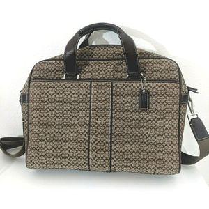 Coach Hudson computer briefcase